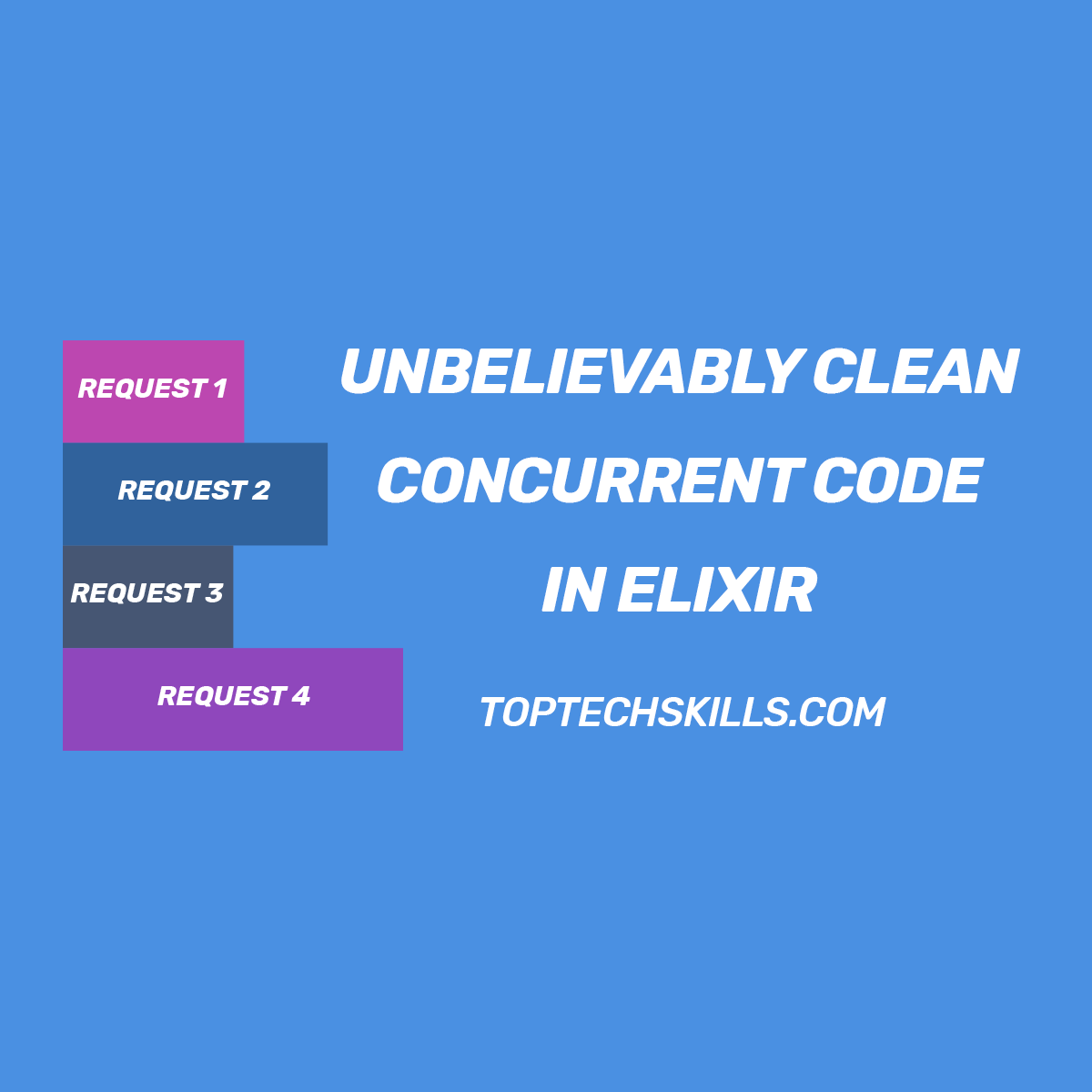 Write Unbelievably Clean Concurrent Code in Elixir Using the